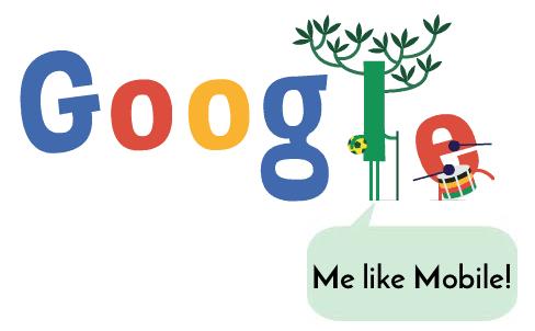 Google Likes Mobile